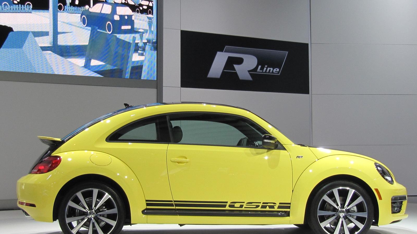 Volkswagen Beetle GSR, 2013 Chicago Auto Show
