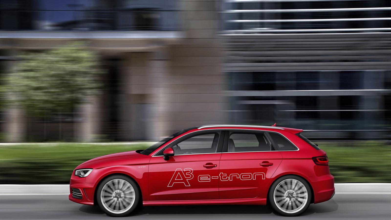 2014 Audi A3 e-tron plug-in hybrid