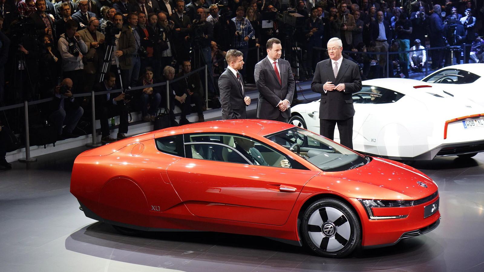 2014 Volkswagen XL1, 2013 Geneva Motor Show