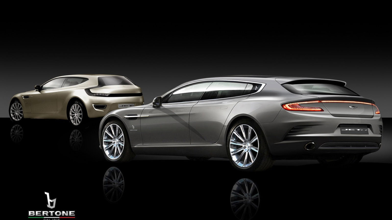 Bertone Jet 2 and Bertone Jet 2+2 concept cars