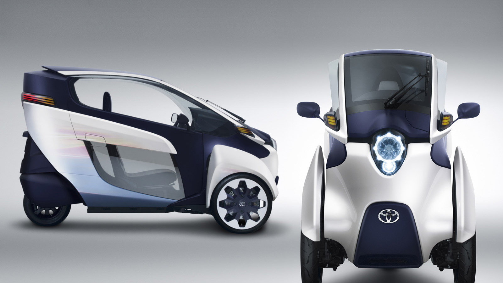 Toyota i-Road concept car
