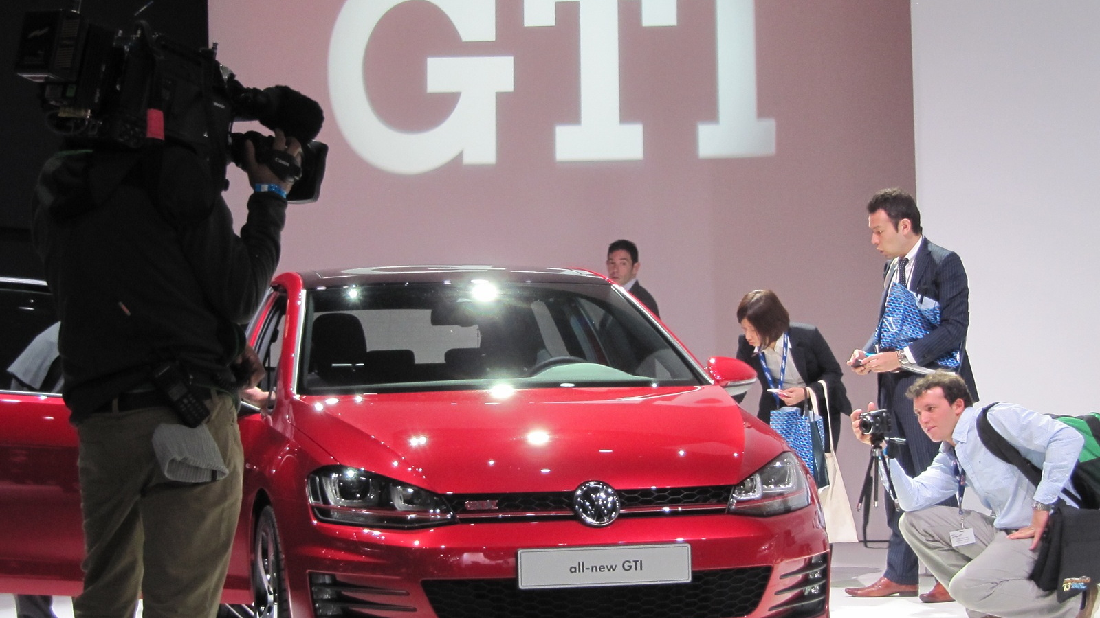 2015 Volkswagen GTI, at 2013 New York Auto Show