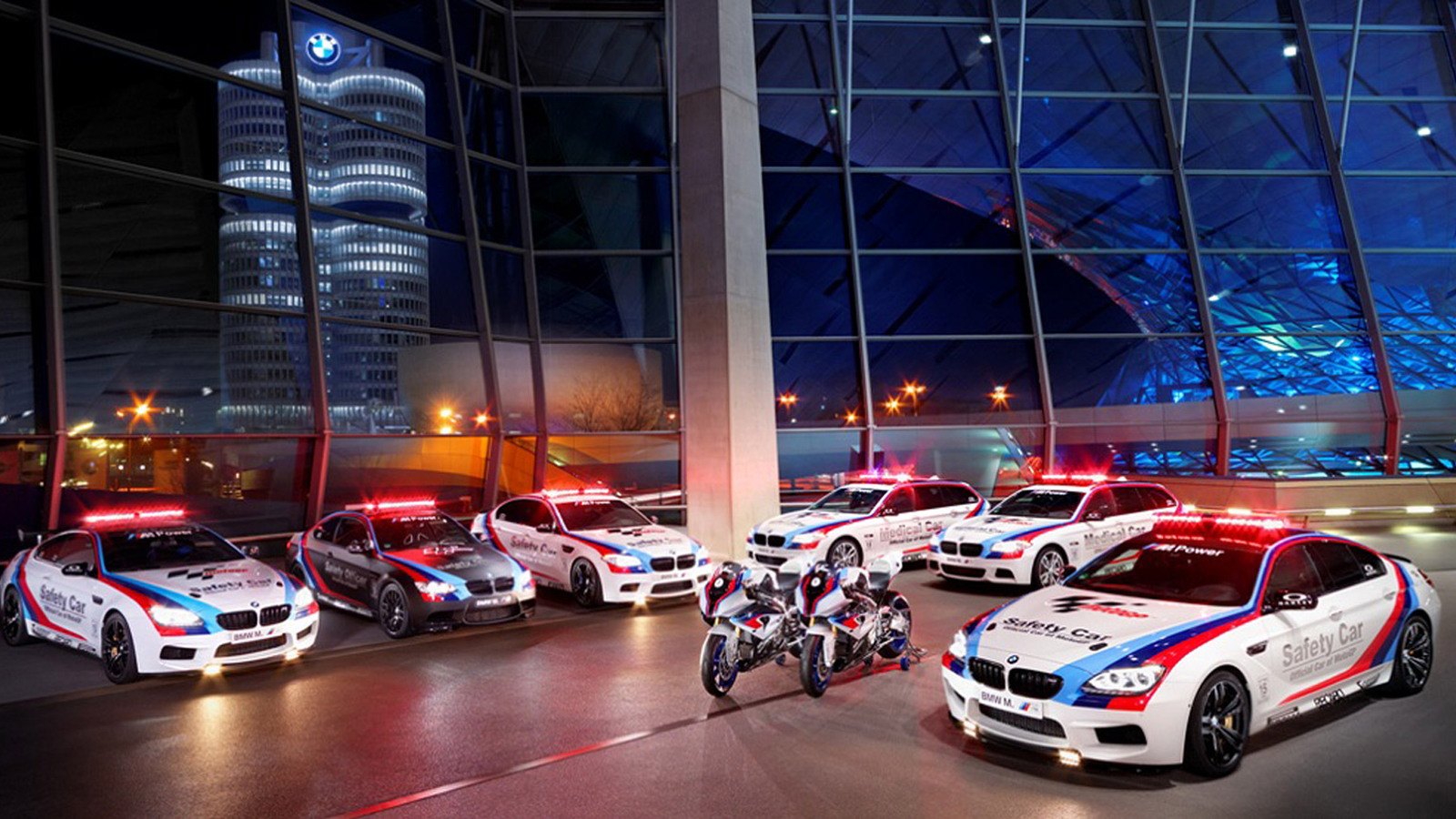 BMW's 2013 official safety vehicle fleet