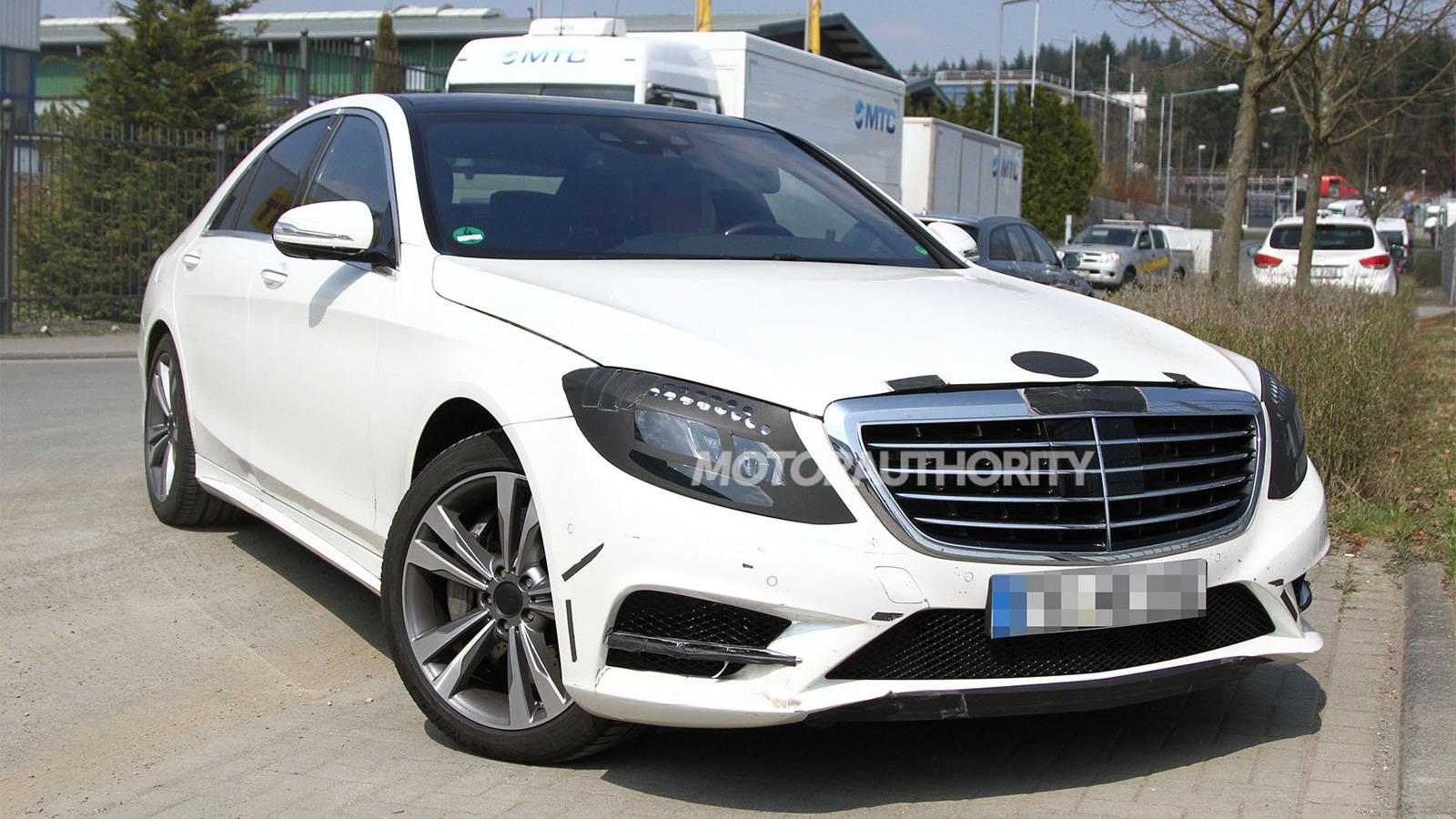 2014 Mercedes-Benz S Class spy shots