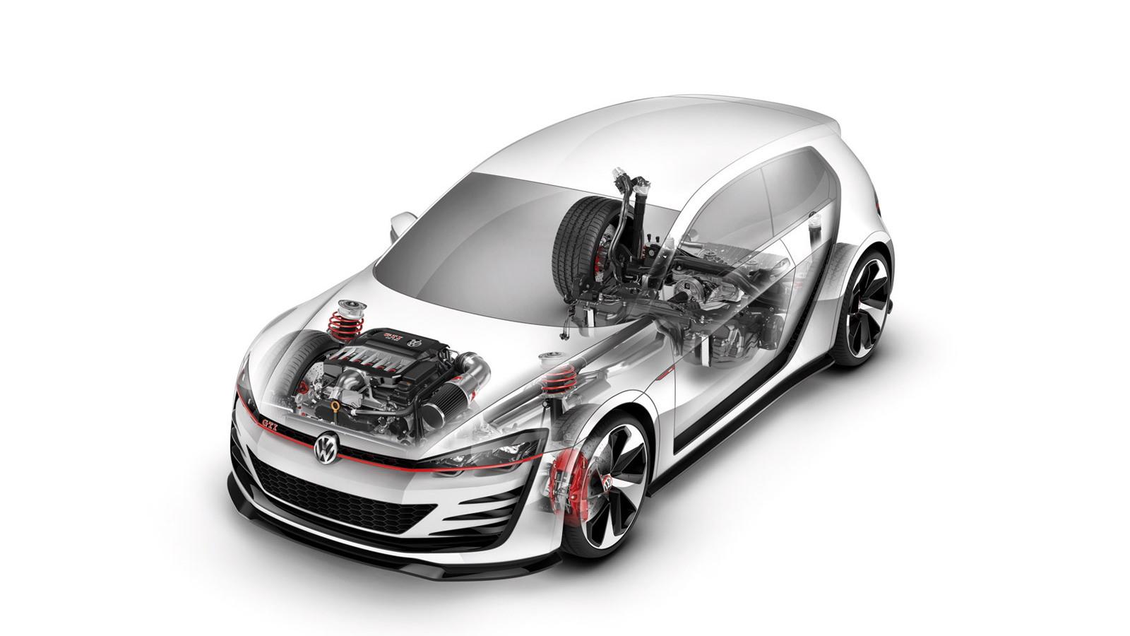 Volkswagen Design Vision GTI racing concept
