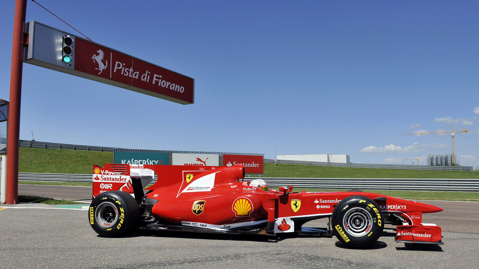 Kamui Kobayashi tests Ferrari's 2010 F1 car at Fiorano