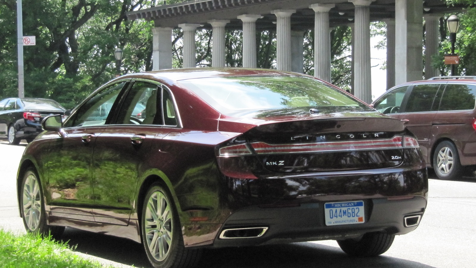 2013 Lincoln MKZ Hybrid, New York City, June 2013