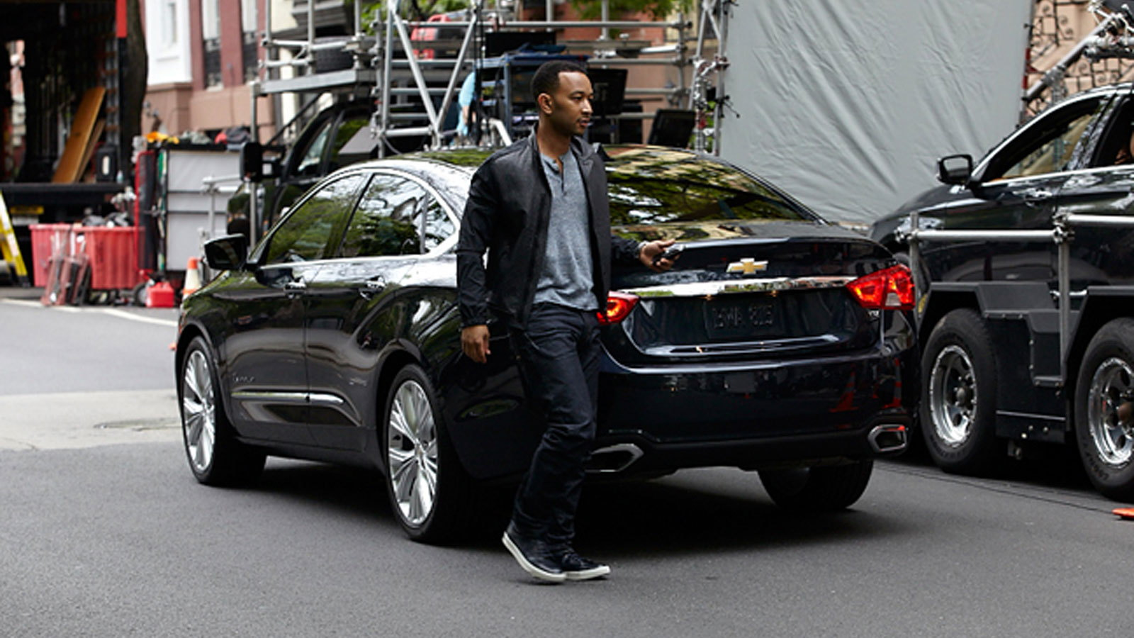 John Legend and the 2014 Chevrolet Impala