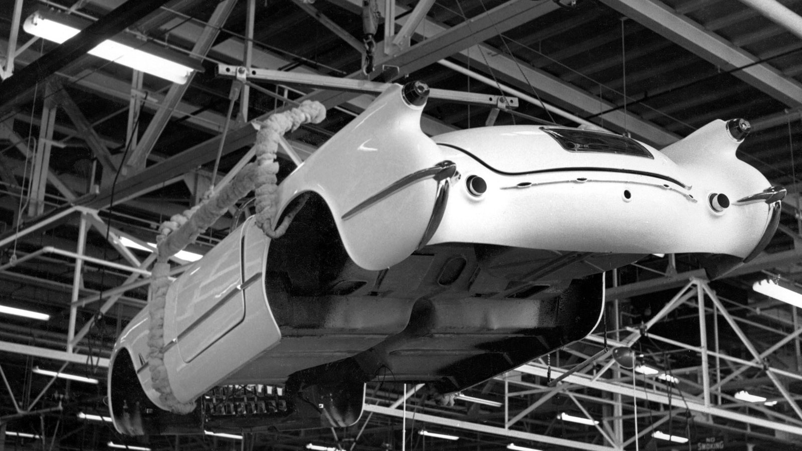 Production of the 1953 Chevrolet Corvette, the very first Corvette
