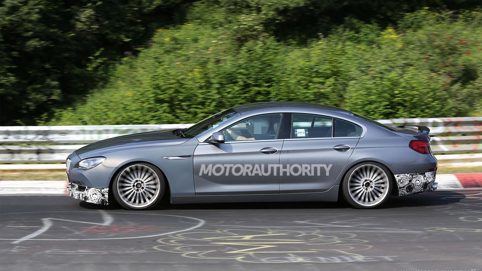 2014 BMW Alpina B6 Biturbo Gran Coupe spy shots