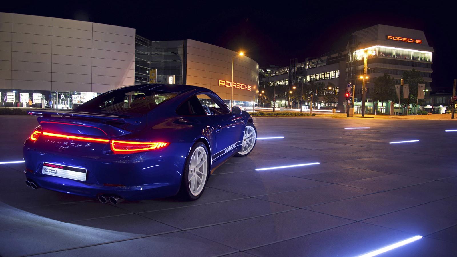 2013 Porsche 911 Carrera 4S 'built' by 5 million Facebook fans