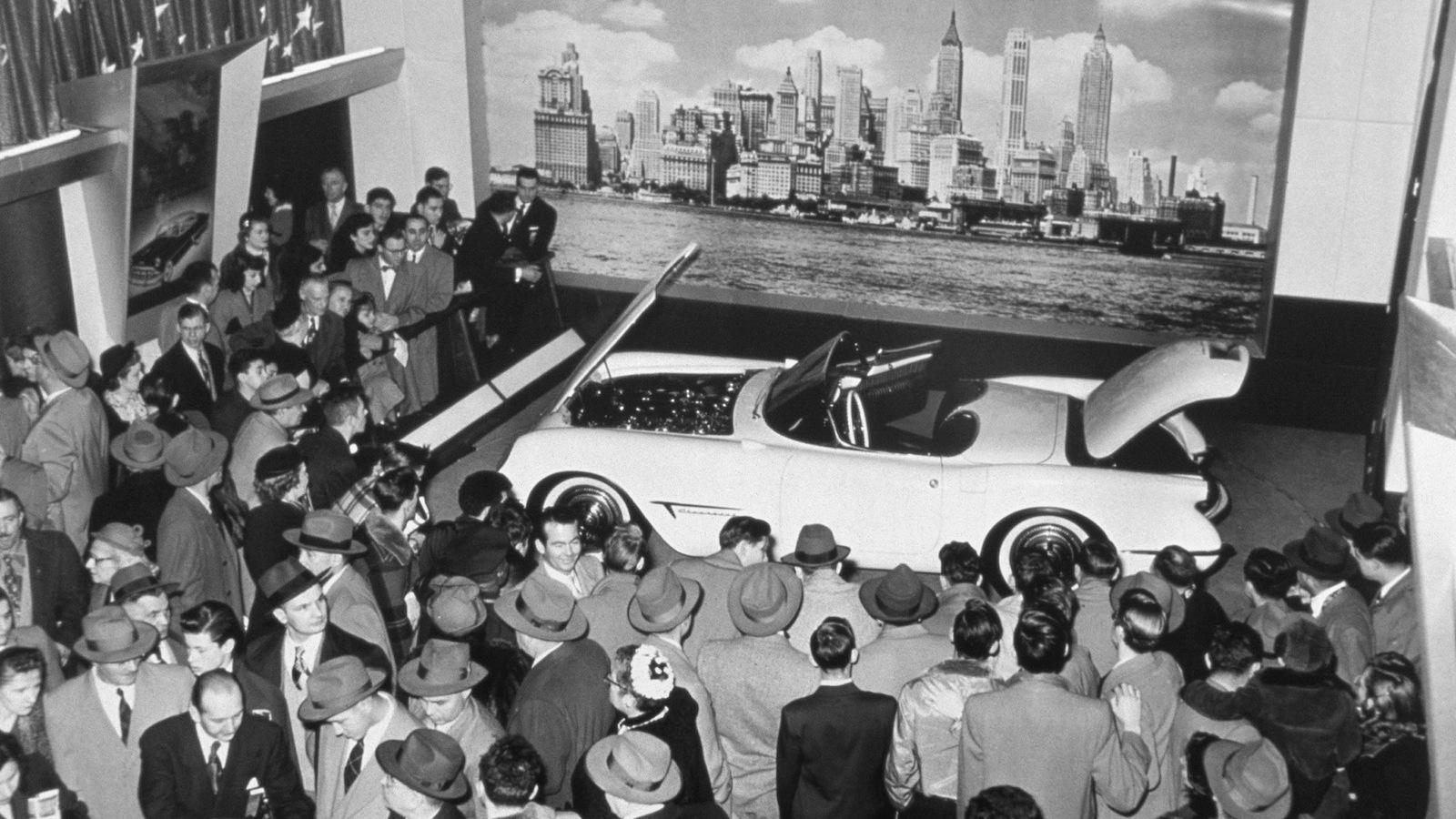 1953 Chevrolet Corvette Motorama show car