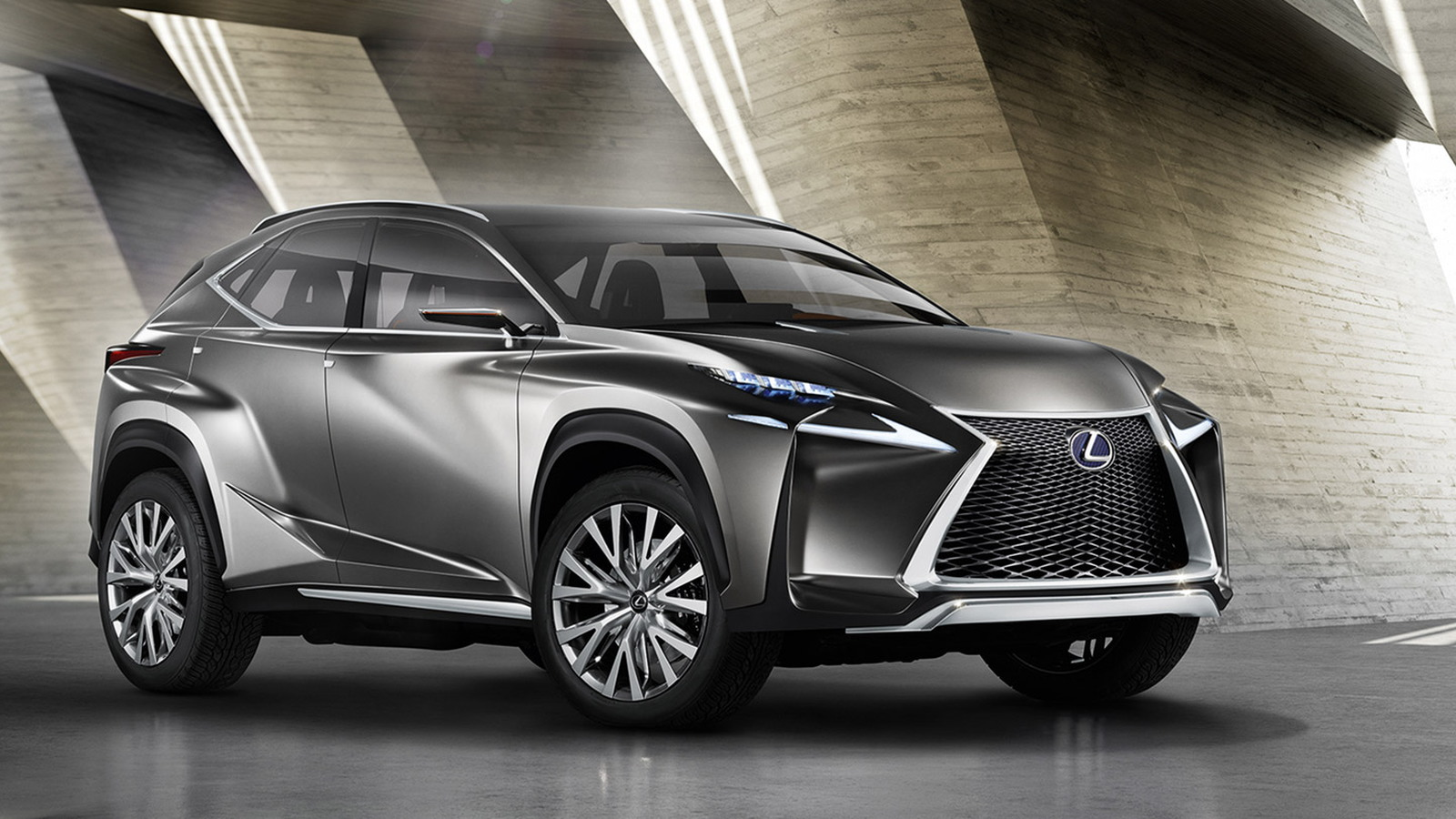 Lexus Lf Nx Compact Crossover Concept Previews Production