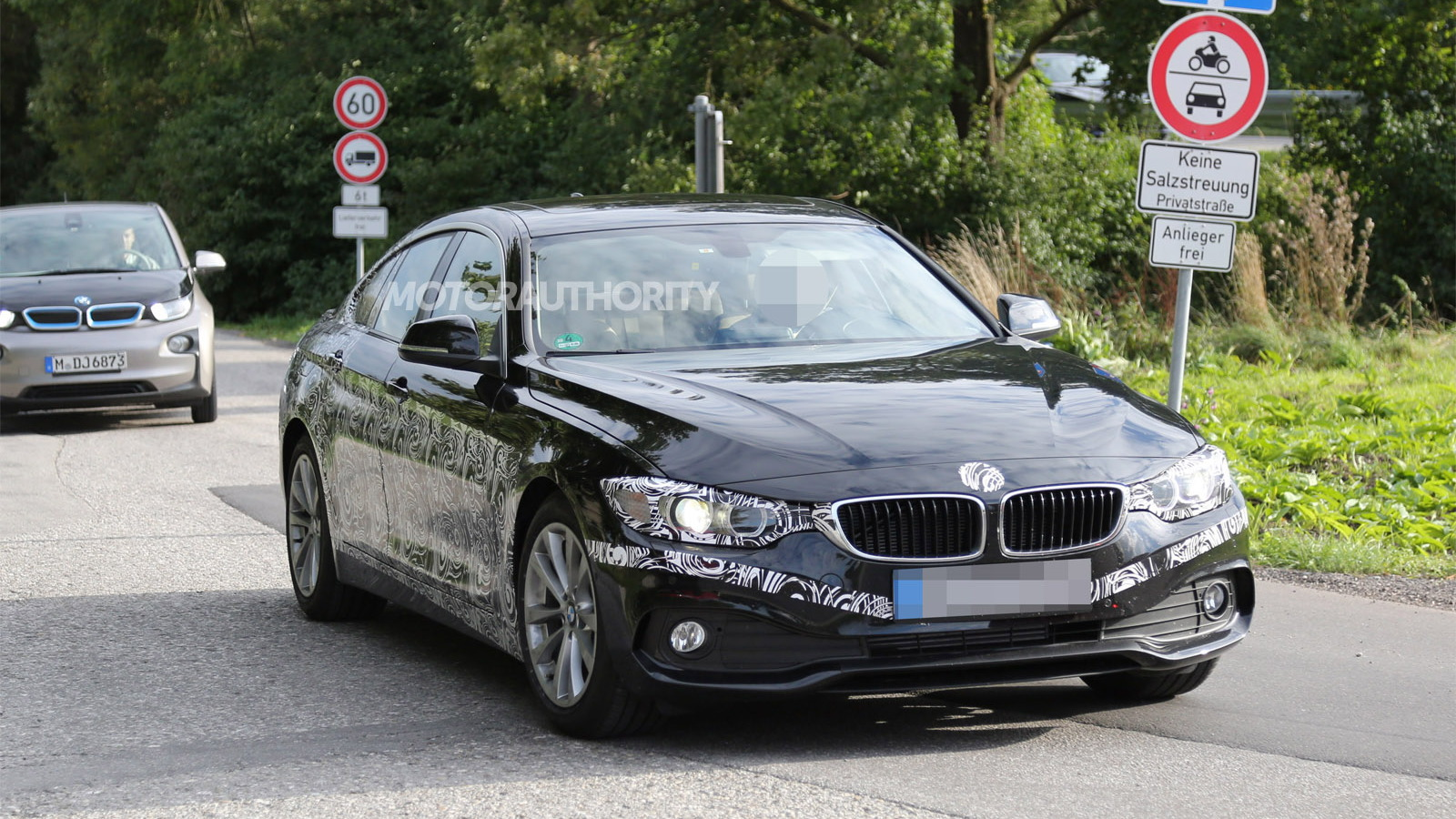 2015 BMW 4-Series Gran Coupe spy shots