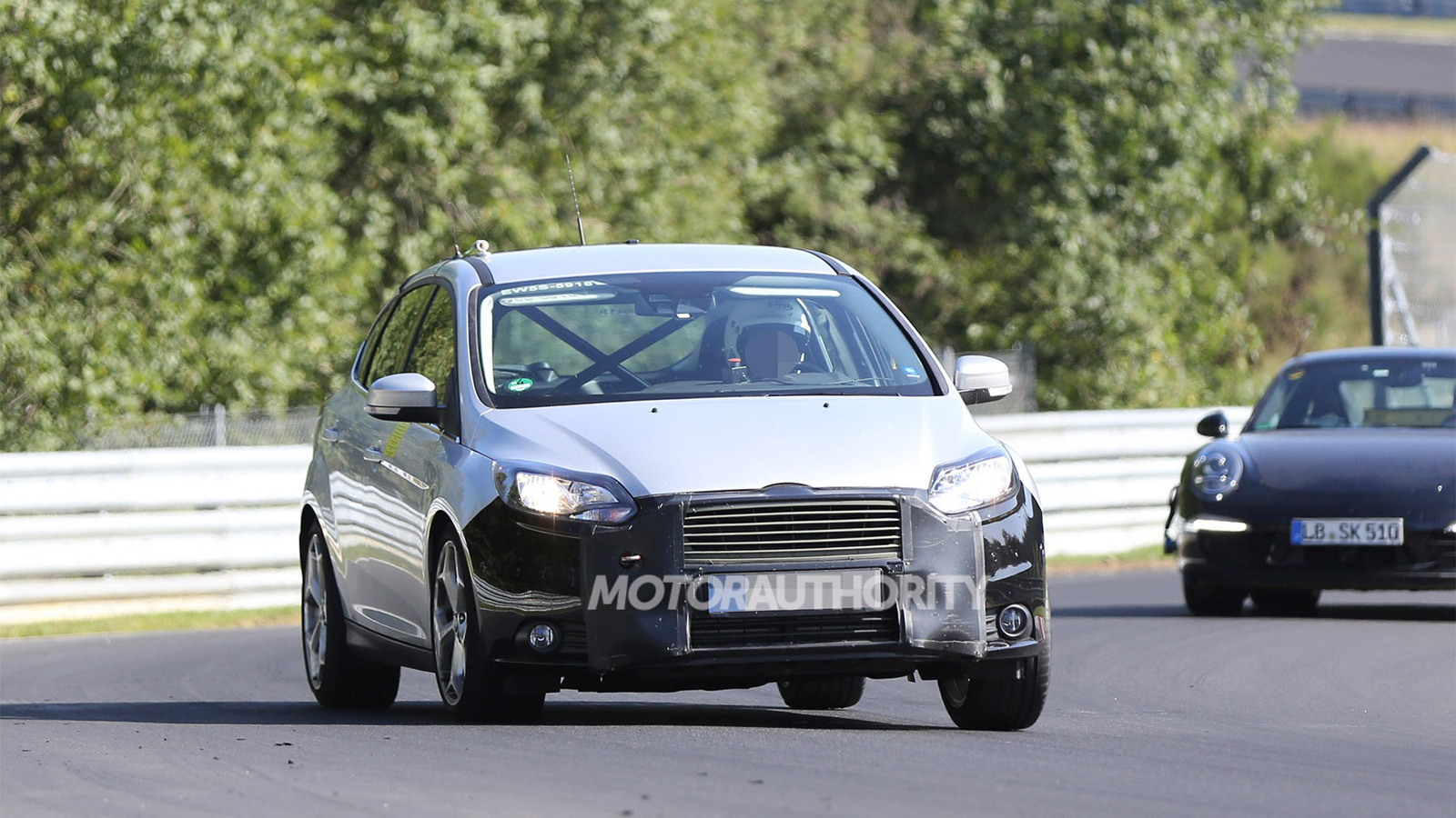 2015 Ford Focus ST facelift spy shots