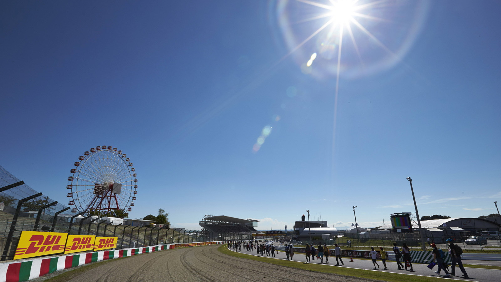 Suzuka Circuit, home of the Formula 1 Japanese Grand Prix