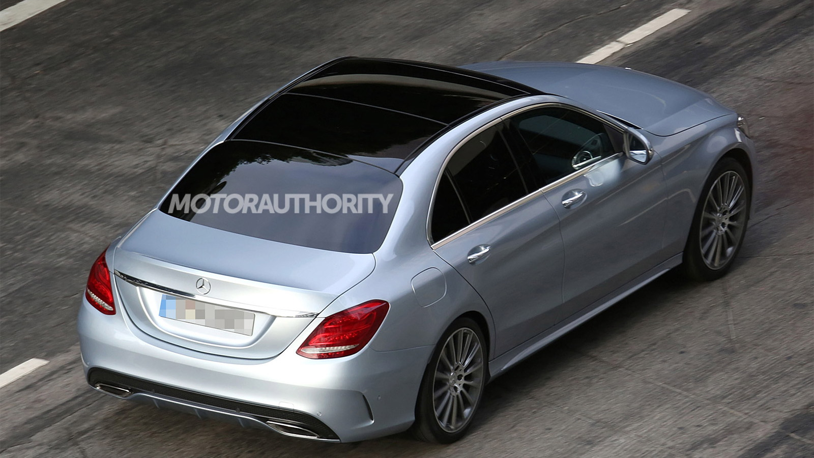 2015 Mercedes-Benz C-Class spy shots