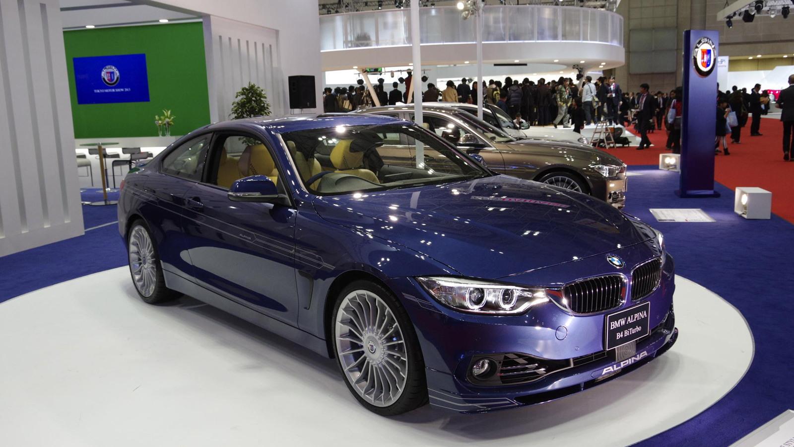 2014 BMW Alpina B4 Biturbo, 2013 Tokyo Motor Show