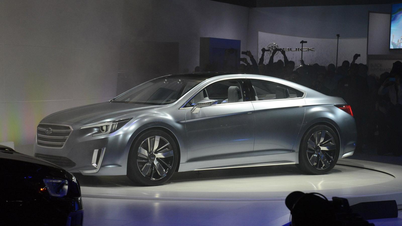 2015 Subaru Legacy concept, 2013 Los Angeles Auto Show