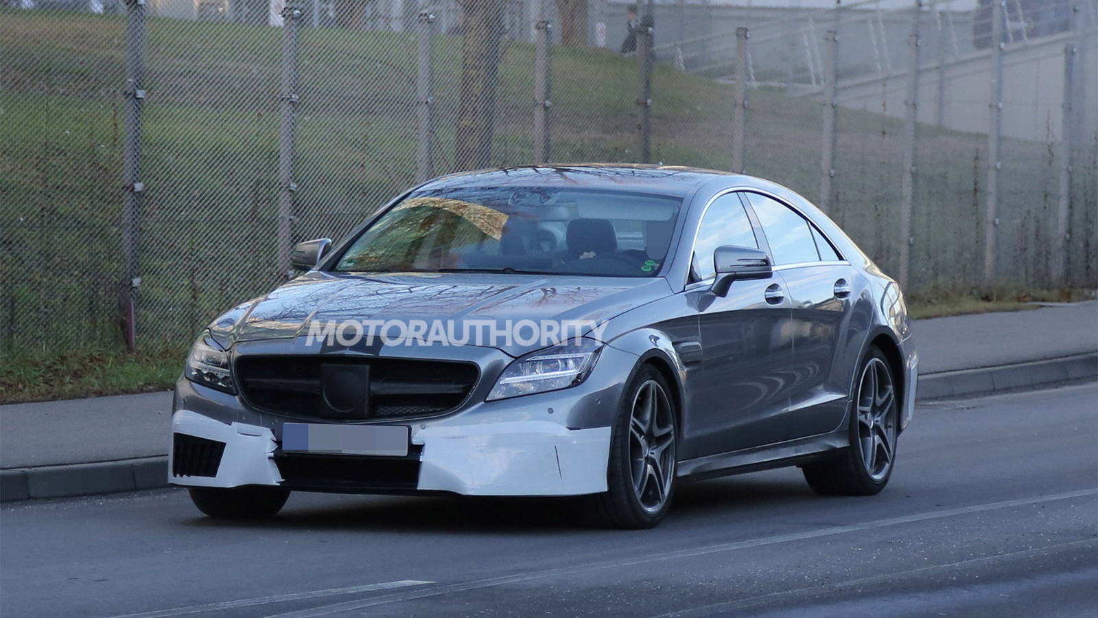 2015 Mercedes-Benz CLS63 AMG facelift spy shots