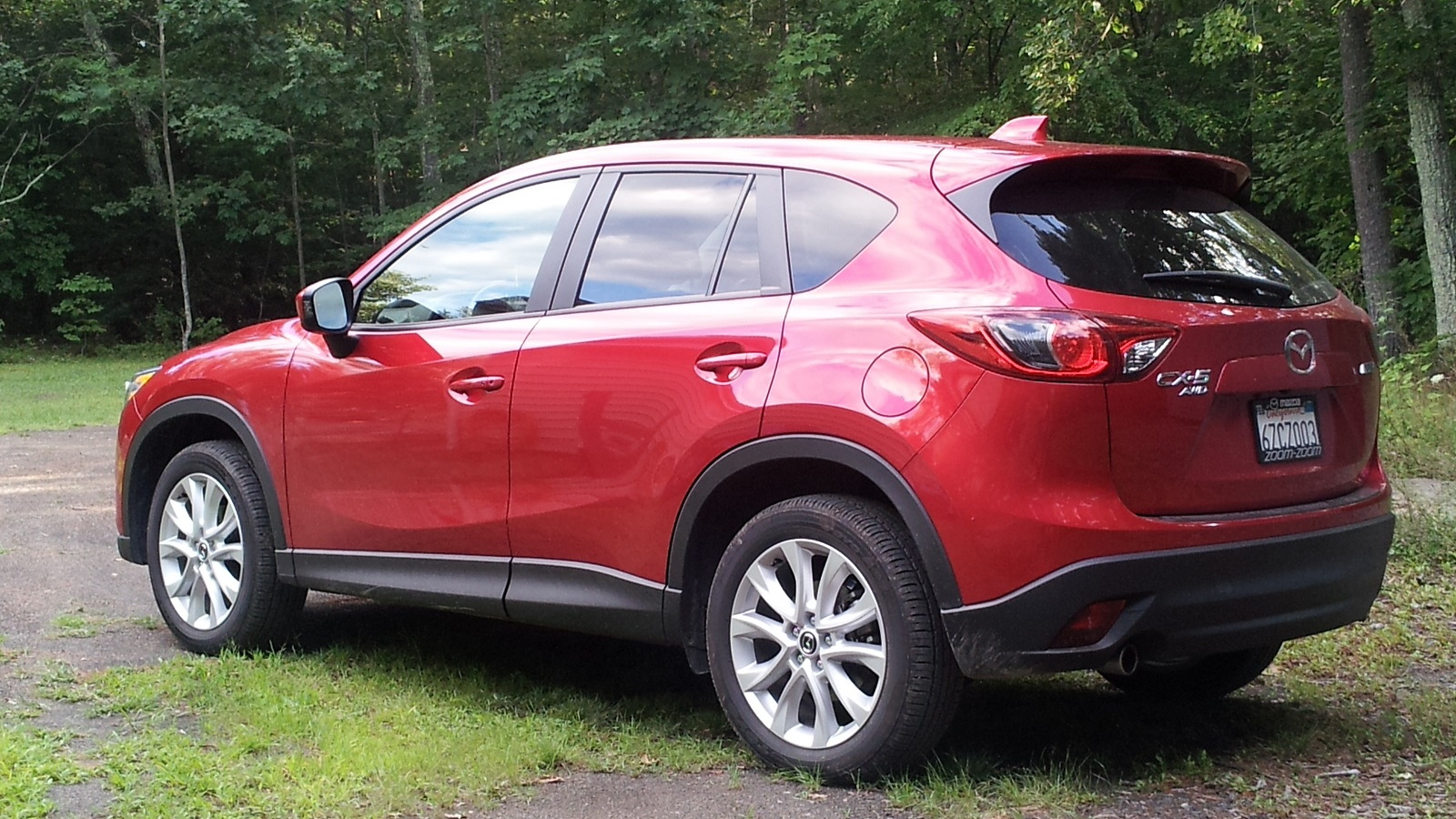 2014 Mazda CX-5 Grand Touring AWD, Catskill Mountains, NY, Aug 2013