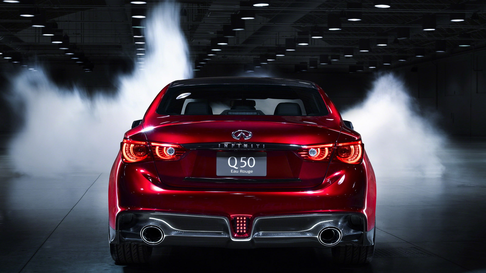 Infiniti Q50 Eau Rouge concept, 2014 Detroit Auto Show