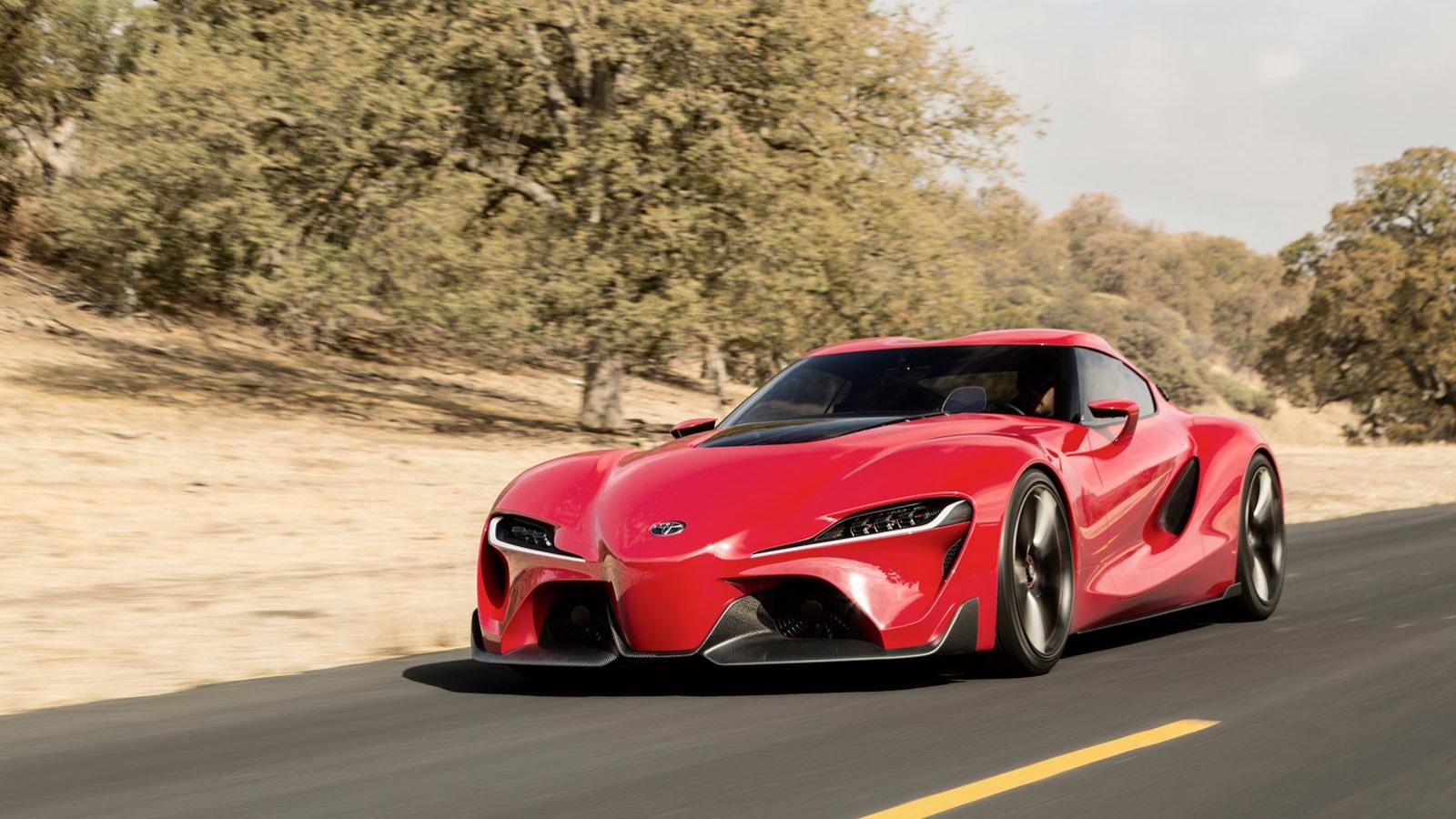 Toyota FT-1 concept, 2014 Detroit Auto Show