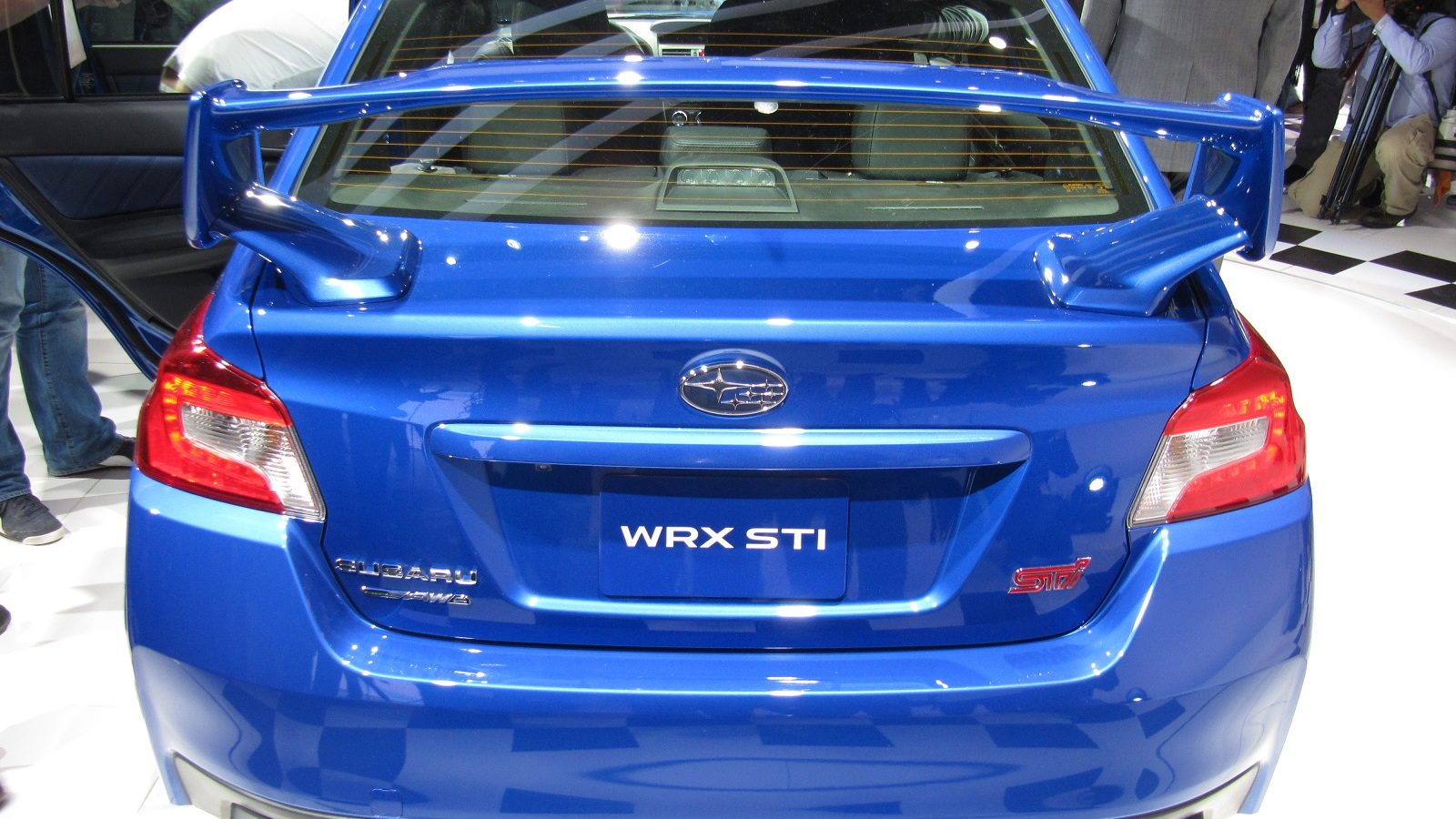 2015 Subaru WRX STI Launch Edition, introduced at 2014 Detroit Auto Show