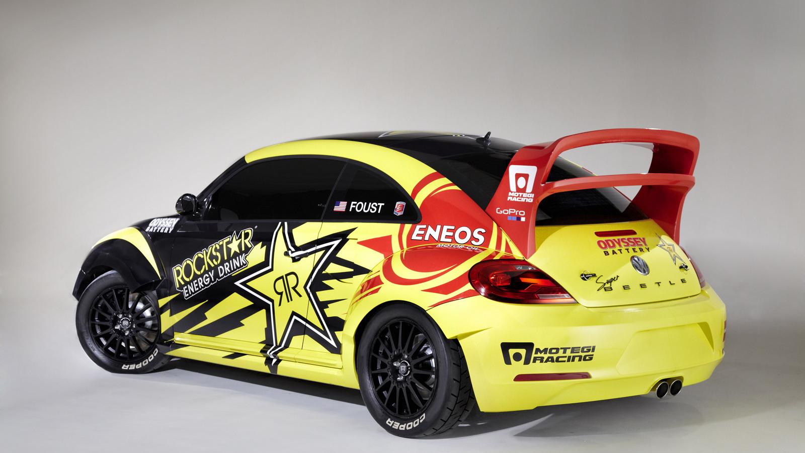 2014 Volkswagen Beetle Global RallyCross car