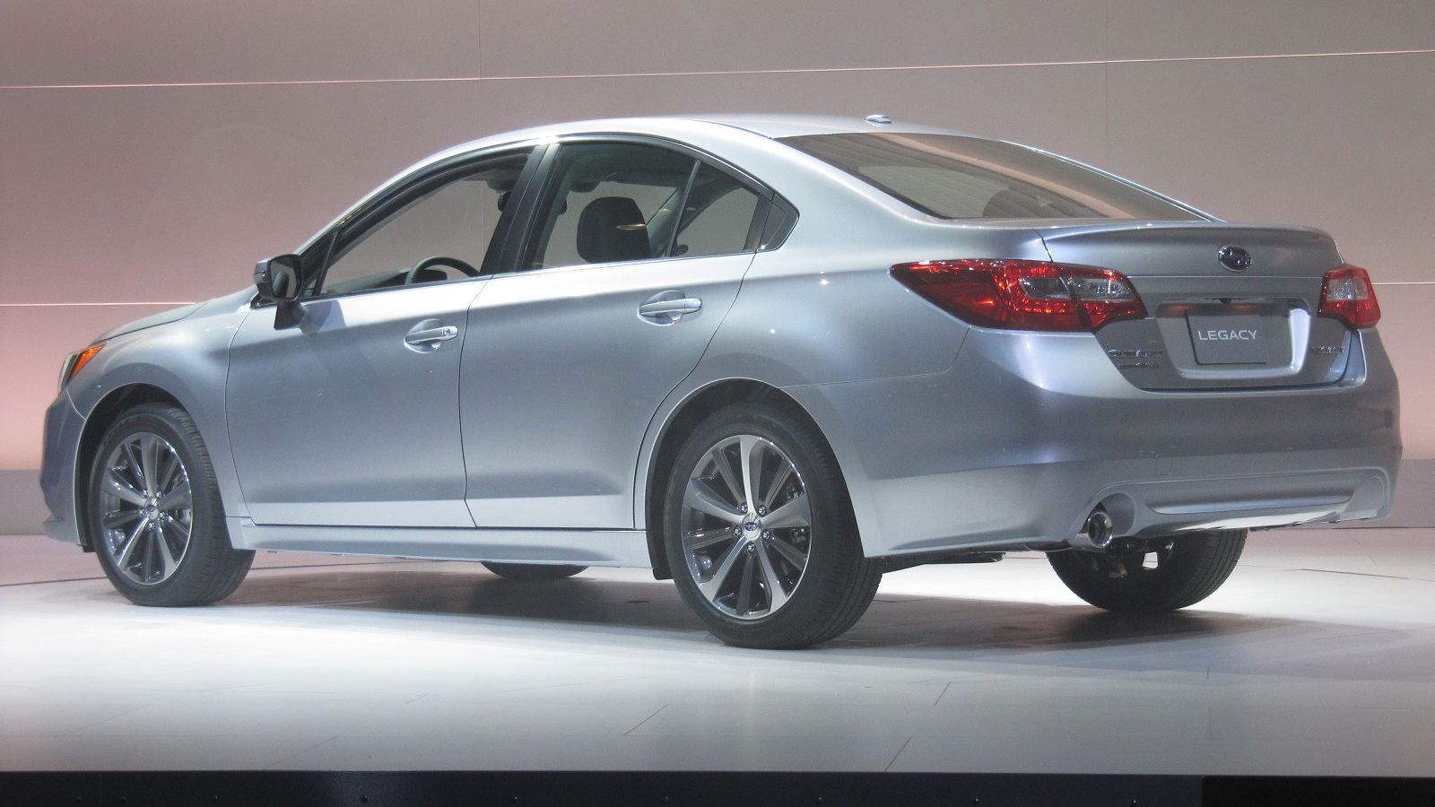 2015 Subaru Legacy launch at 2014 Chicago Auto Show