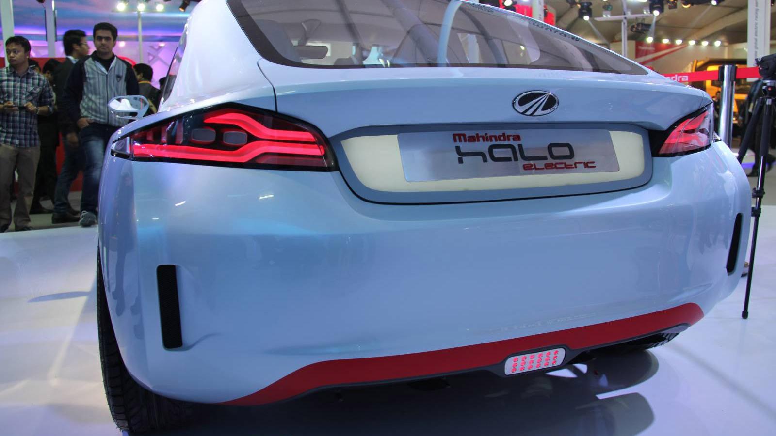 Mahindra Reva Halo, 2014 Delhi Auto Expo - Image via MotorBeam