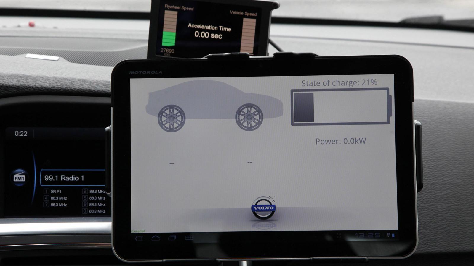 Volvo S60 KERS engineering prototype