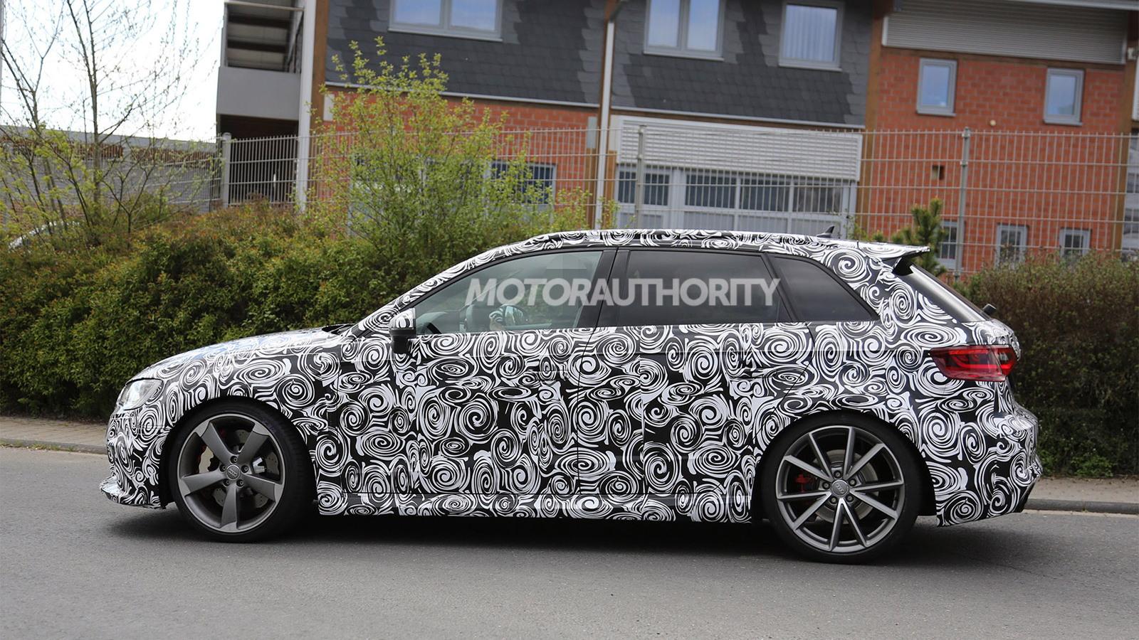 2015 Audi RS 3 Sportback spy shots