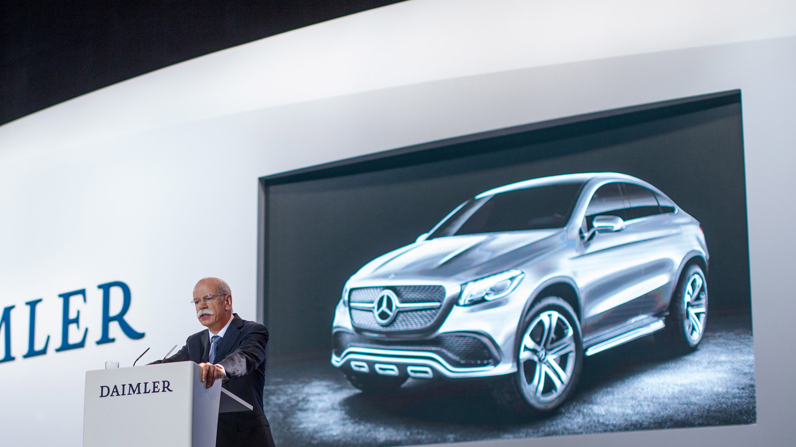 Mercedes-Benz Concept Coupe SUV, 2014 Beijing Auto Show
