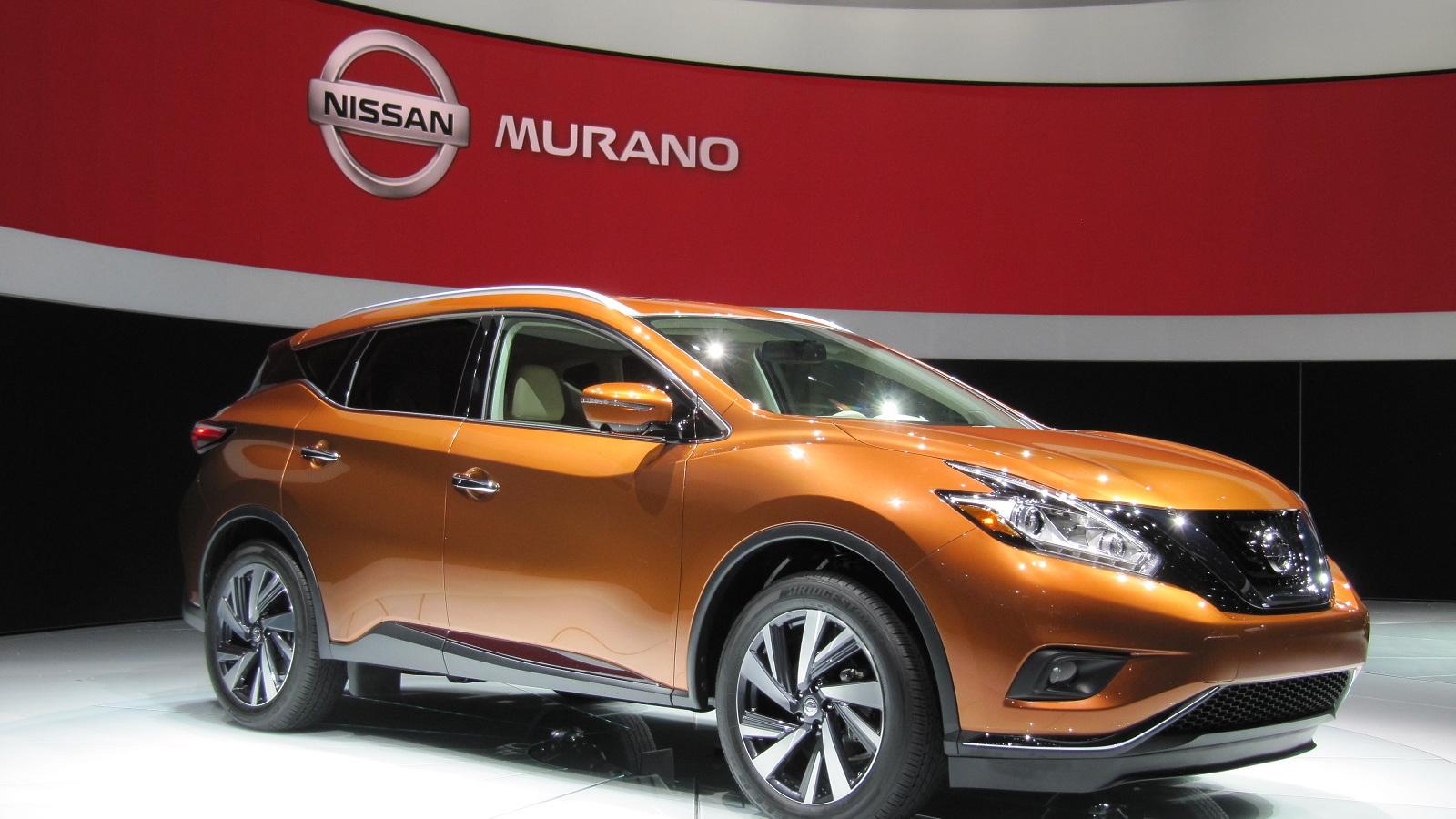 2015 Nissan Murano launch, 2014 New York Auto Show