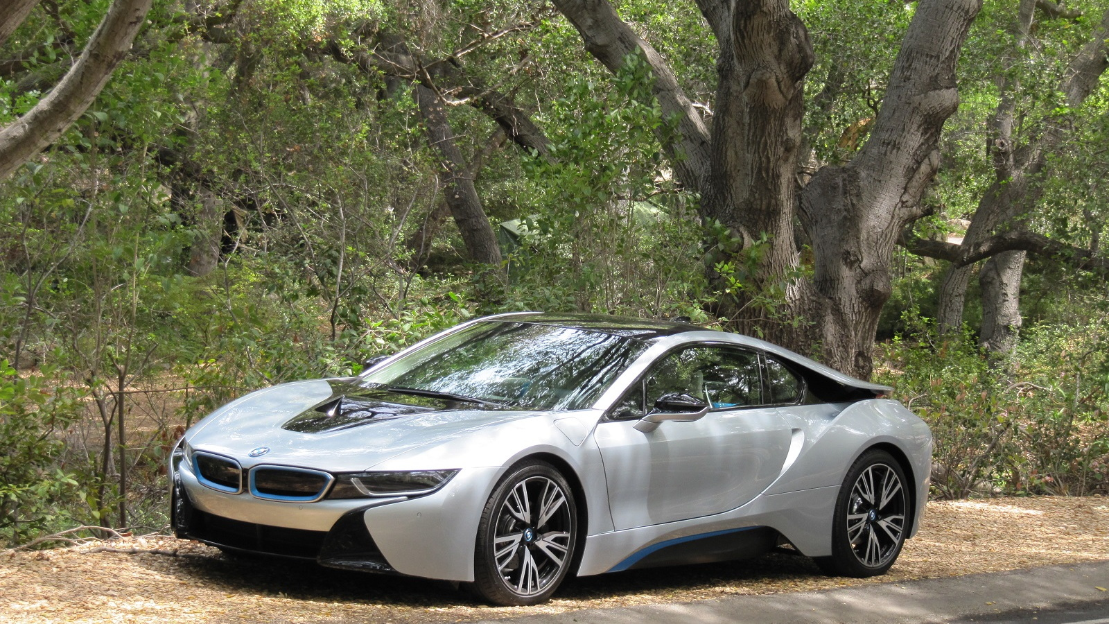 2015 BMW i8, test drive around Malibu, CA,