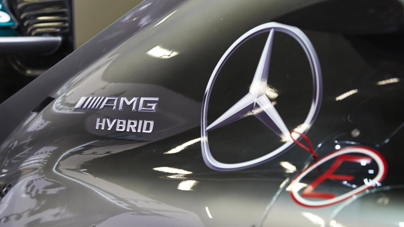 Mercedes AMG's W05 Hybrid 2014 Formula One car