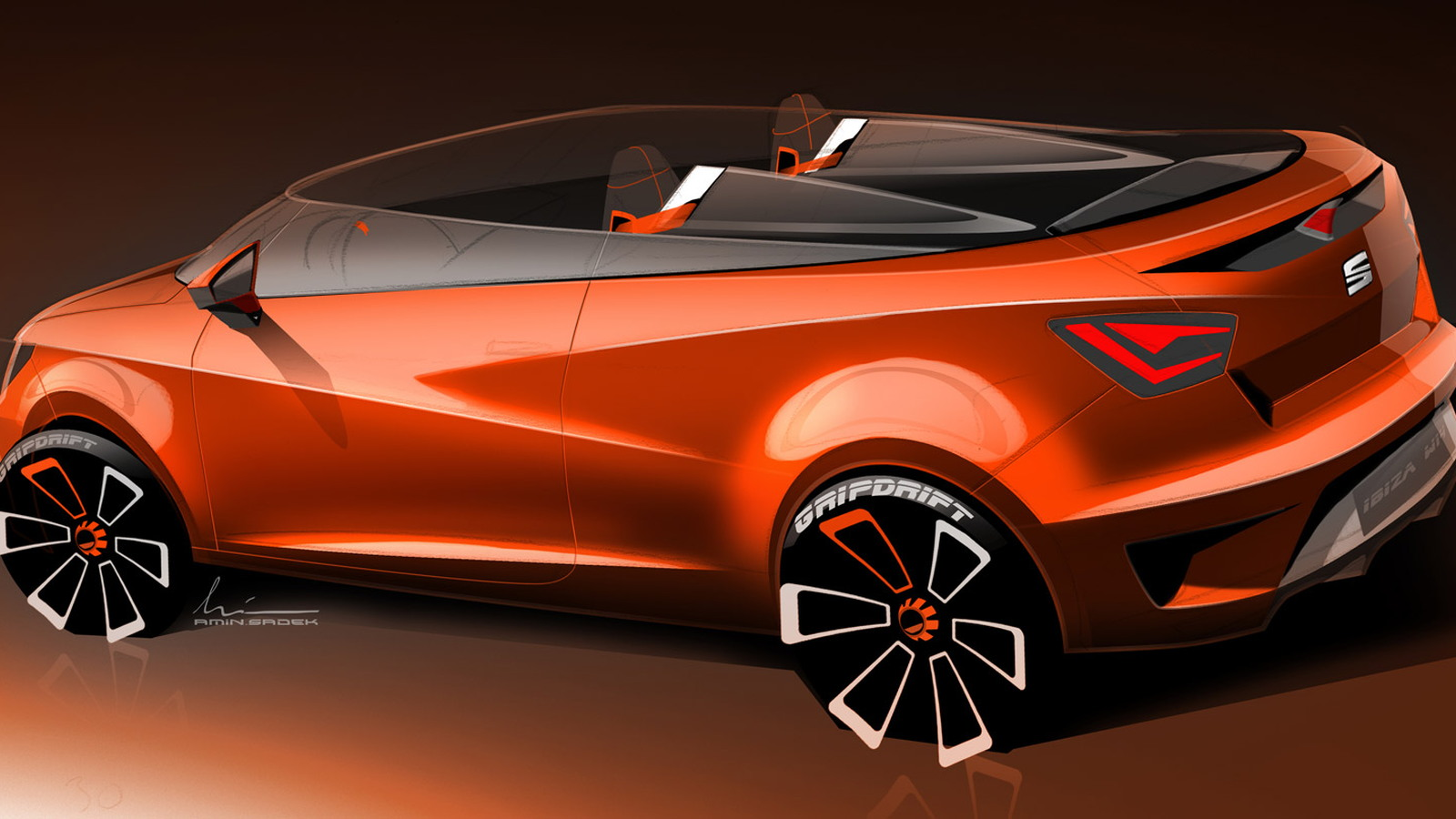 SEAT Ibiza Cupster concept, 2014 Wörthersee Tour