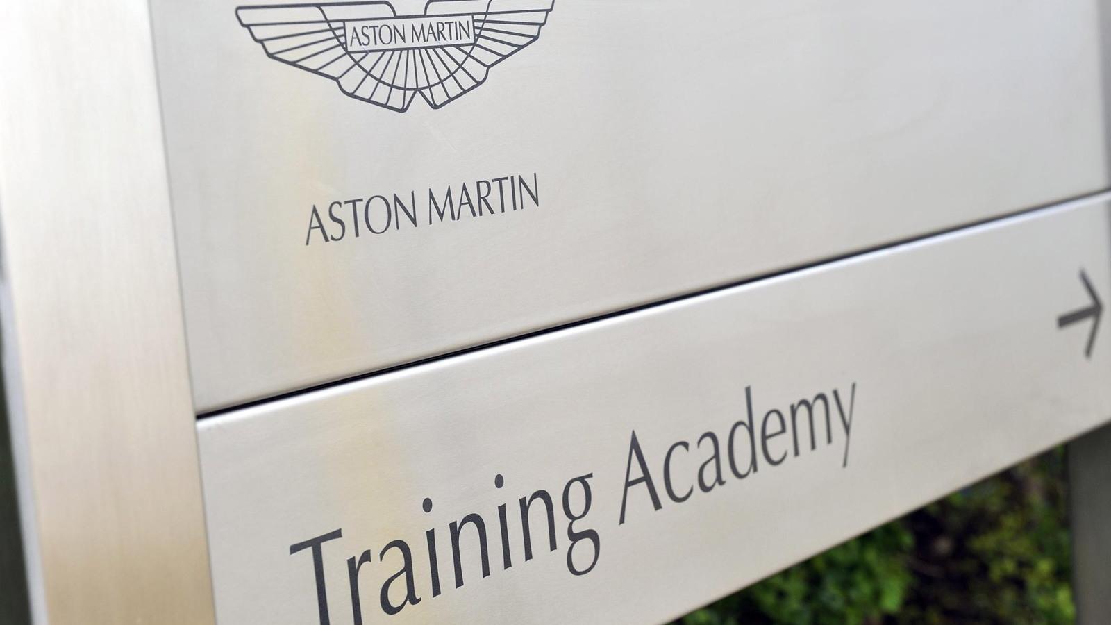 Aston Martin production facility in Gaydon, England