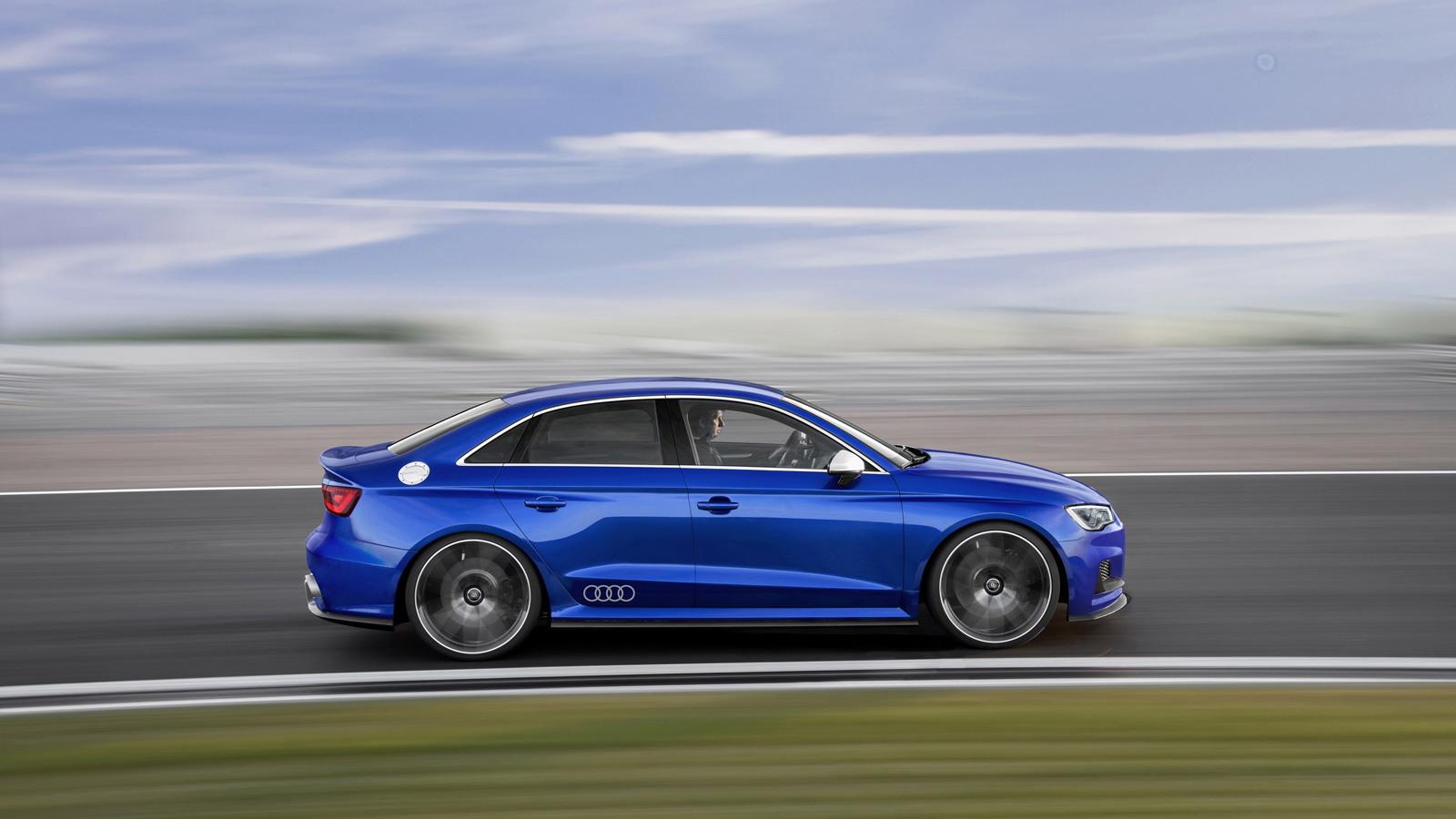 Audi A3 Clubsport Quattro Concept Mega Gallery And Video