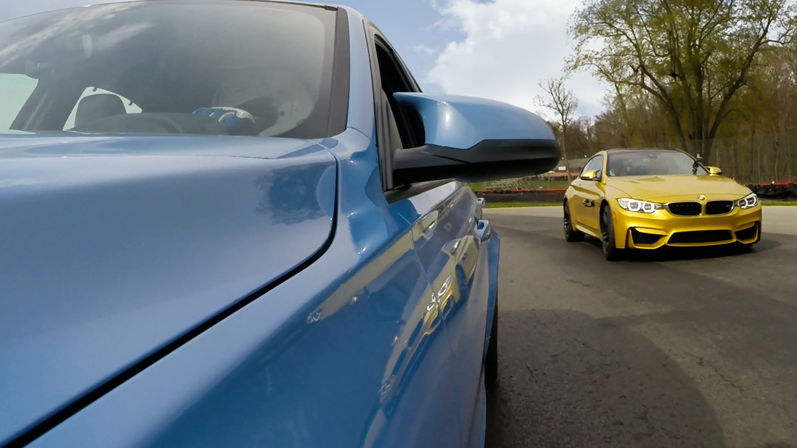 BMW GoPro integration
