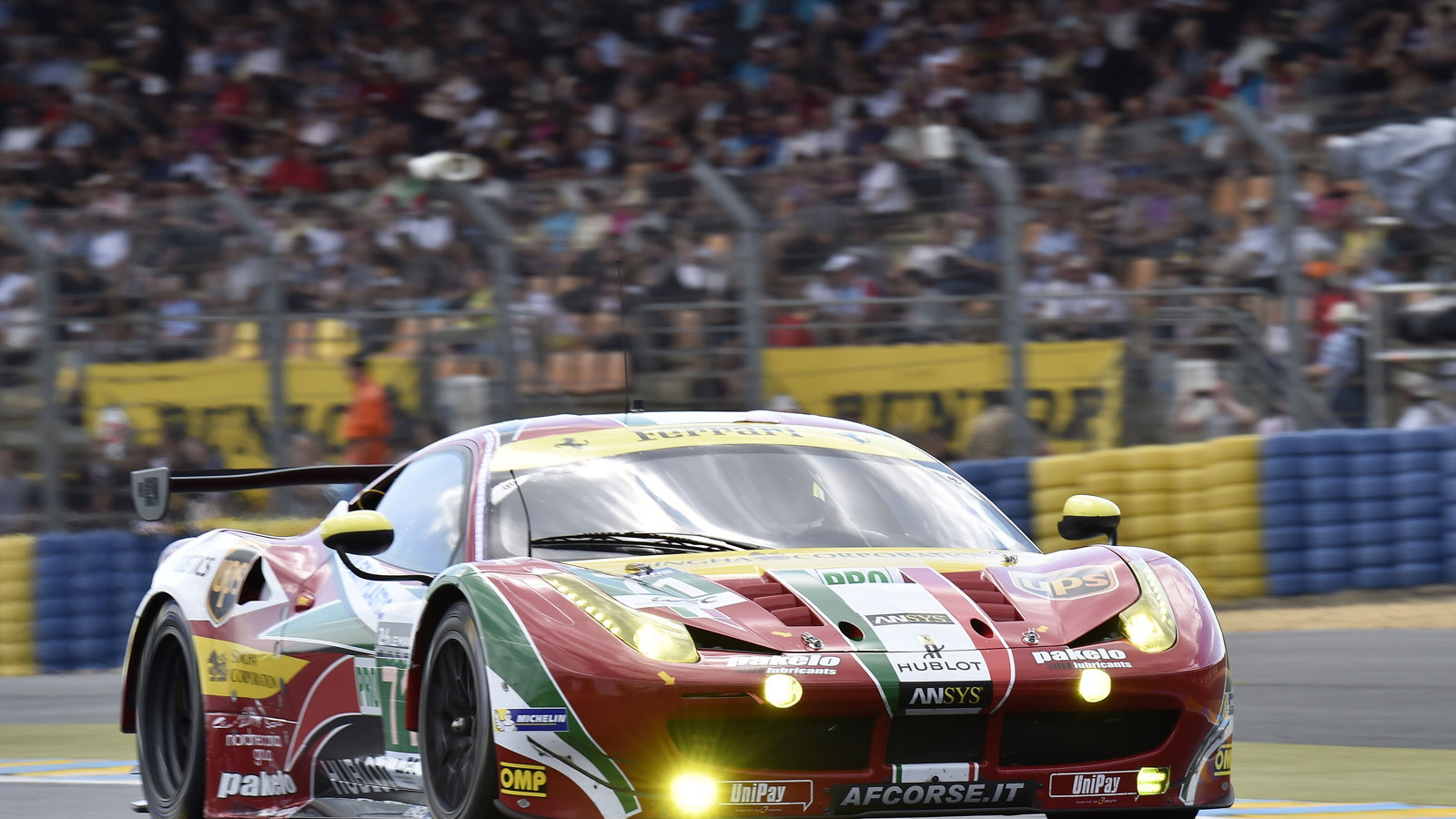 Ferrari at the 2014 24 Hours of Le Mans