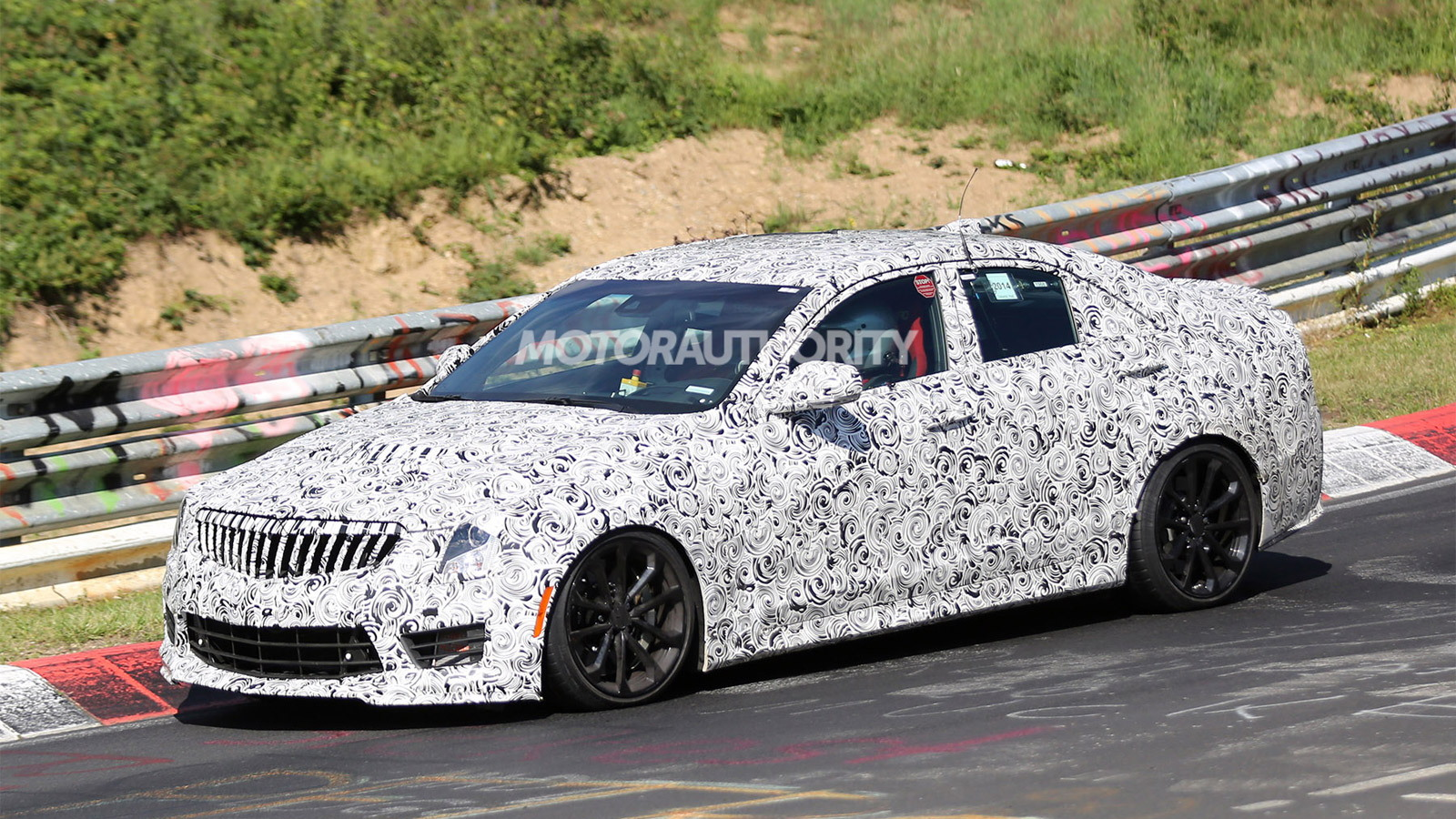 2016 Cadillac ATS-V spy shots