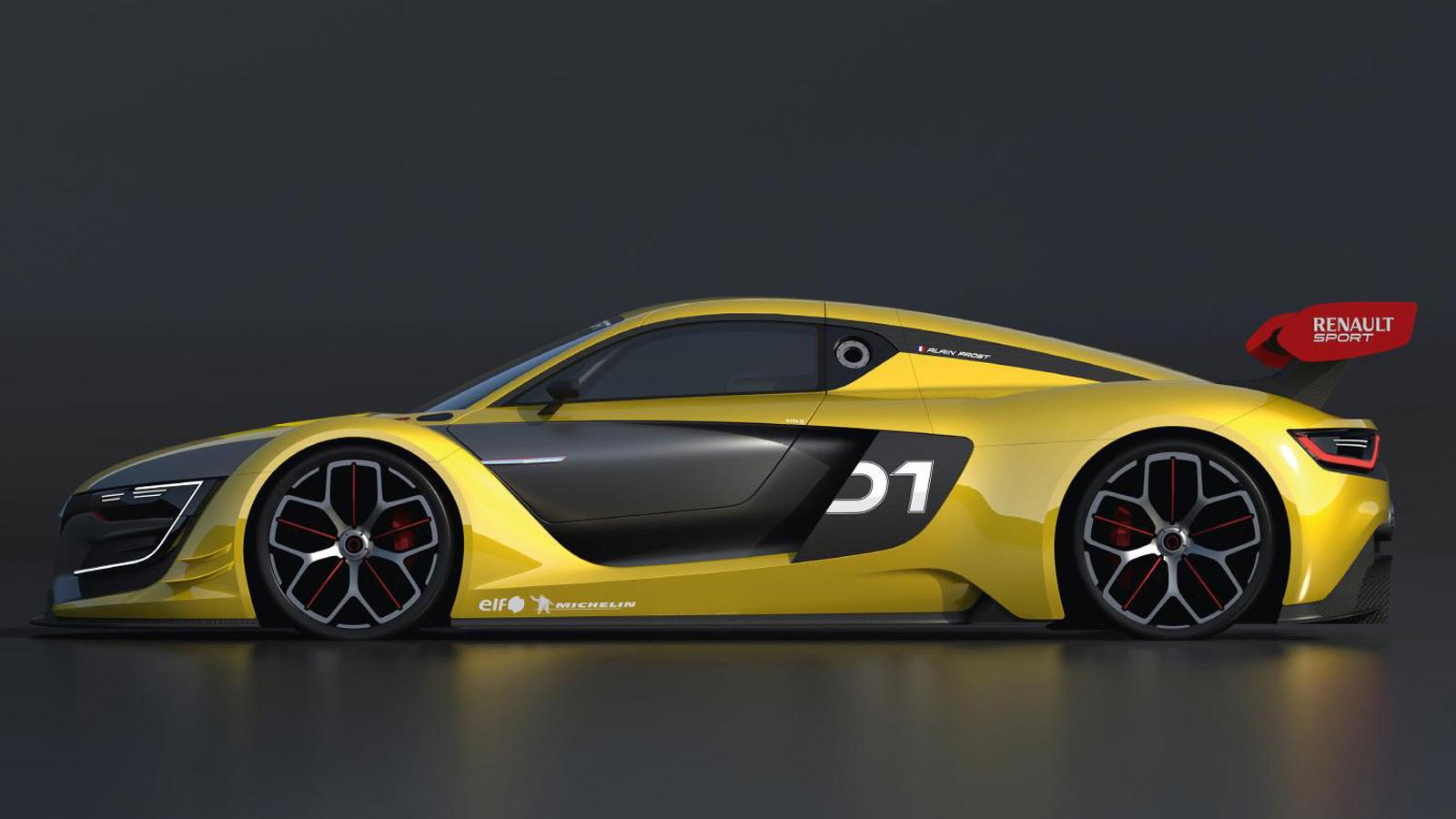 2015 Renault R.S. 01 race car