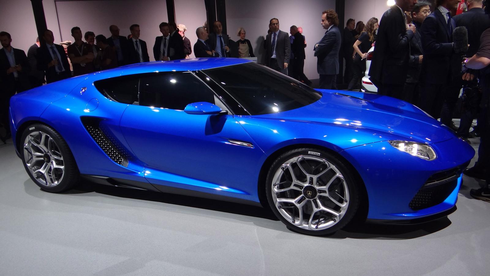 Lamborghini Asterion Lpi 910 4 Concept 2017 Paris Auto Show