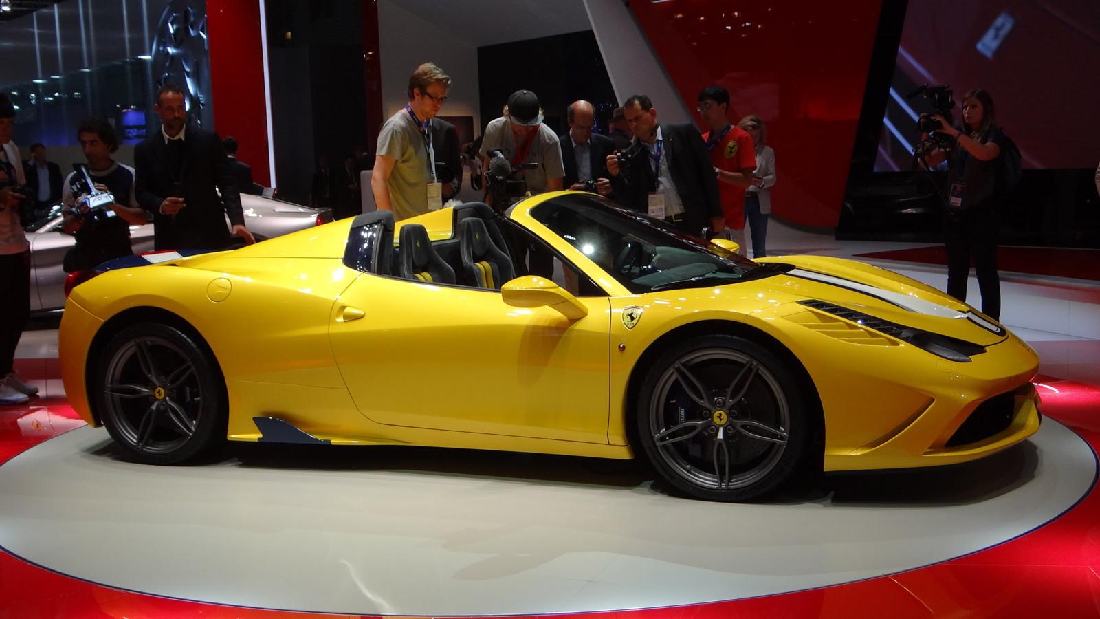 Ferrari 458 Speciale A, 2014 Paris Auto Show