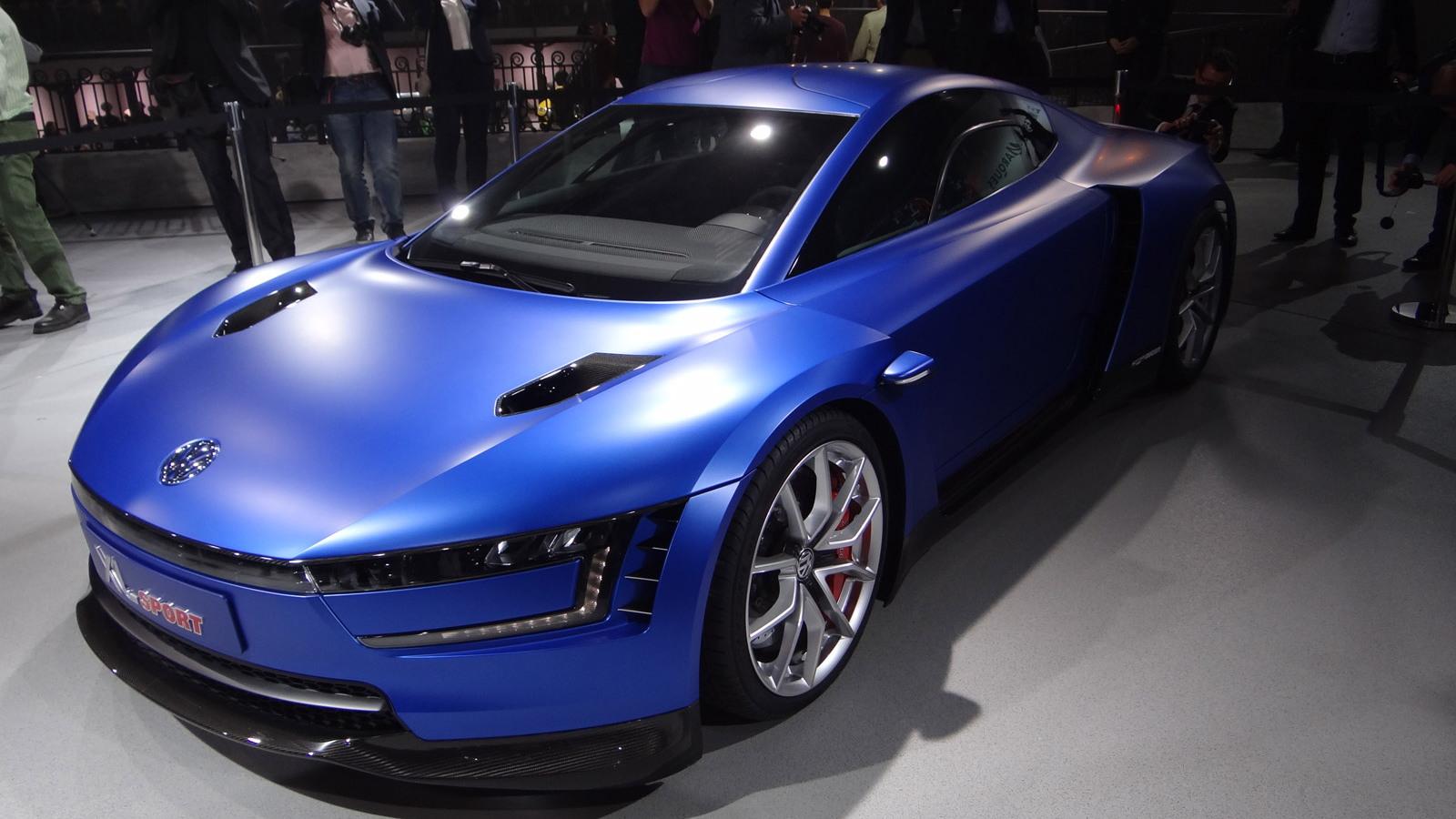 Volkswagen XL Sport concept, 2014 Paris Auto Show