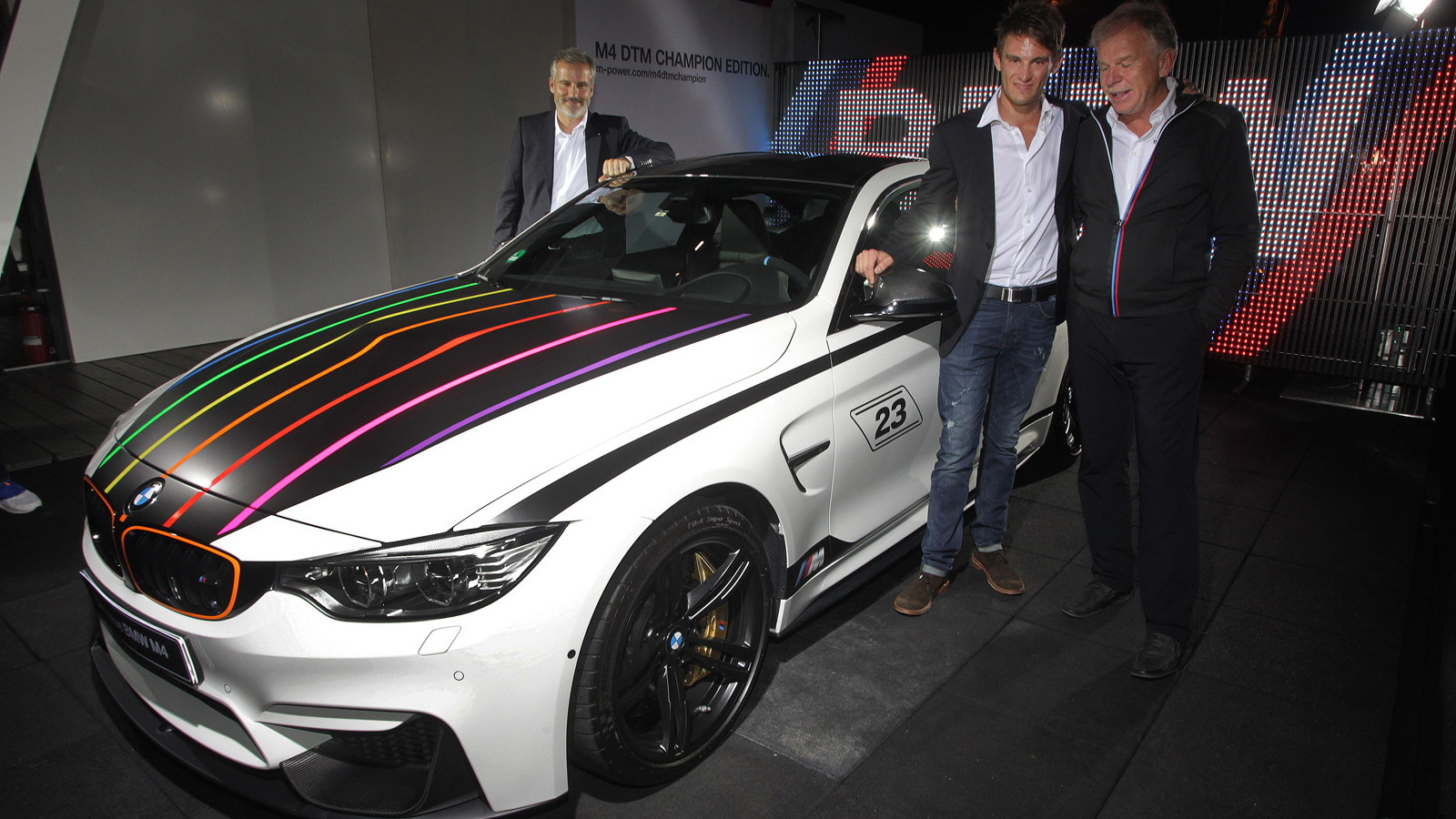 BMW M4 DTM Champion Edition unveiled at the Hockenheimring, October 19, 2014