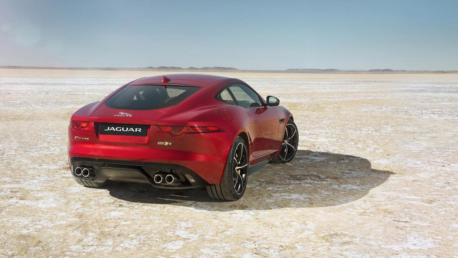 2016 Jaguar F-Type R Coupe All Wheel Drive