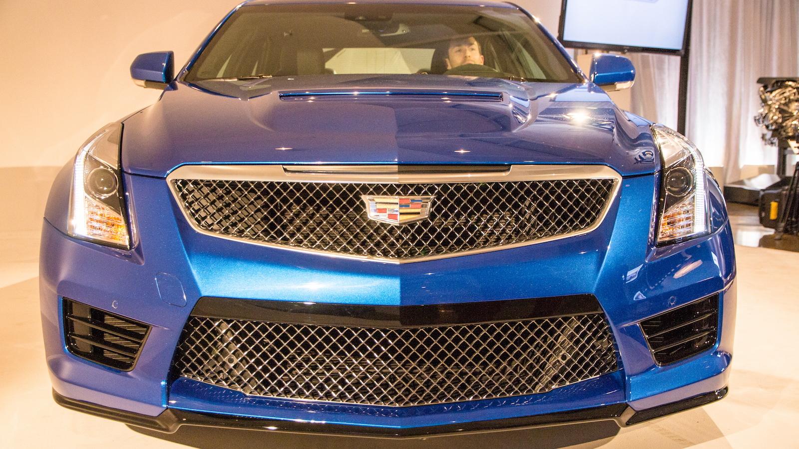 2016 Cadillac ATS-V, 2014 Los Angeles Auto Show